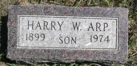 ARP, HARRY W. - Moody County, South Dakota | HARRY W. ARP - South Dakota Gravestone Photos