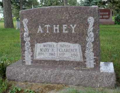 ATHEY, MARY A. - Moody County, South Dakota | MARY A. ATHEY - South Dakota Gravestone Photos