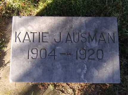 AUSMAN, KATIE J - Moody County, South Dakota | KATIE J AUSMAN - South Dakota Gravestone Photos