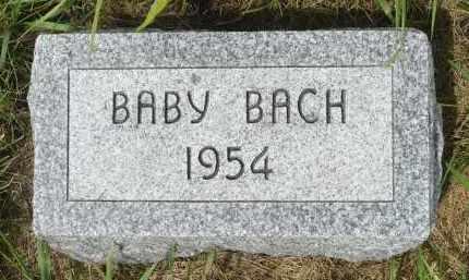 BACH, BABY - Moody County, South Dakota | BABY BACH - South Dakota Gravestone Photos