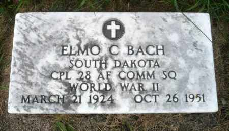 BACH, ELMO C. - Moody County, South Dakota | ELMO C. BACH - South Dakota Gravestone Photos