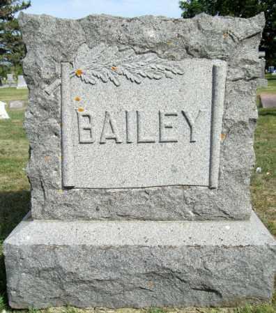 BAILEY, FAMILY MARKER - Moody County, South Dakota | FAMILY MARKER BAILEY - South Dakota Gravestone Photos