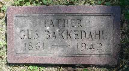 BAKKEDAHL, GUS - Moody County, South Dakota   GUS BAKKEDAHL - South Dakota Gravestone Photos