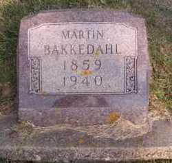 BAKKEDAHL, MARTIN - Moody County, South Dakota | MARTIN BAKKEDAHL - South Dakota Gravestone Photos