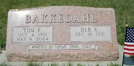 BAKKEDAHL, DEB K. - Moody County, South Dakota | DEB K. BAKKEDAHL - South Dakota Gravestone Photos
