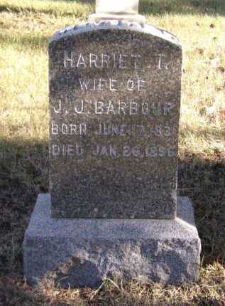 BARBOUR, HARRIET T - Moody County, South Dakota | HARRIET T BARBOUR - South Dakota Gravestone Photos