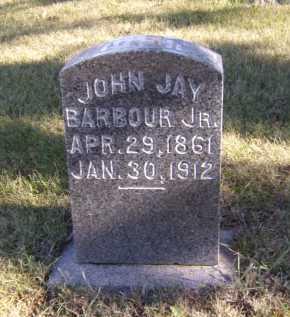 BARBOUR, JOHN JAY JR - Moody County, South Dakota | JOHN JAY JR BARBOUR - South Dakota Gravestone Photos