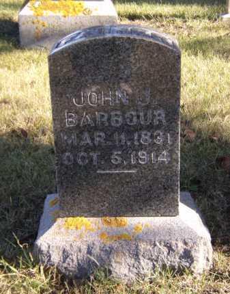 BARBOUR, JOHN J - Moody County, South Dakota | JOHN J BARBOUR - South Dakota Gravestone Photos
