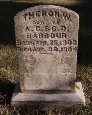 BARBOUR, THERON W - Moody County, South Dakota | THERON W BARBOUR - South Dakota Gravestone Photos