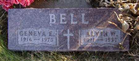 BELL, GENEVA E - Moody County, South Dakota | GENEVA E BELL - South Dakota Gravestone Photos