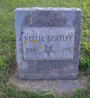 BENTLEY, NELLIE - Moody County, South Dakota | NELLIE BENTLEY - South Dakota Gravestone Photos