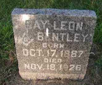 BENTLEY, RAY LEON - Moody County, South Dakota | RAY LEON BENTLEY - South Dakota Gravestone Photos