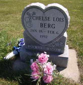 BERG, CHELSE LOIS - Moody County, South Dakota | CHELSE LOIS BERG - South Dakota Gravestone Photos