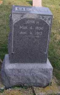 BERG, JOHN H - Moody County, South Dakota   JOHN H BERG - South Dakota Gravestone Photos