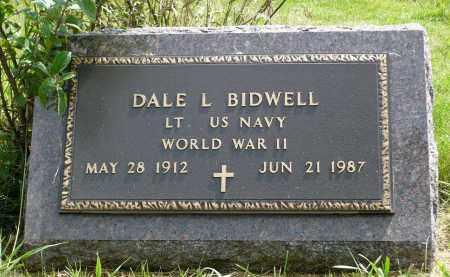 BIDWELL, DALE L. - Moody County, South Dakota | DALE L. BIDWELL - South Dakota Gravestone Photos