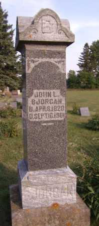 BJORGAN, JOHN L - Moody County, South Dakota | JOHN L BJORGAN - South Dakota Gravestone Photos