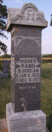 BJORGAN, RANDI - Moody County, South Dakota | RANDI BJORGAN - South Dakota Gravestone Photos
