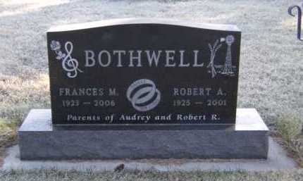 BOTHWELL, ROBERT A - Moody County, South Dakota | ROBERT A BOTHWELL - South Dakota Gravestone Photos