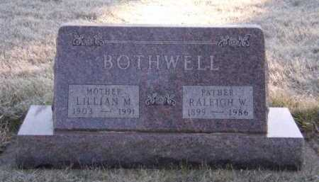BOTHWELL, RALEIGH W - Moody County, South Dakota | RALEIGH W BOTHWELL - South Dakota Gravestone Photos
