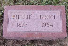 BRUCE, PHILLIP E - Moody County, South Dakota | PHILLIP E BRUCE - South Dakota Gravestone Photos