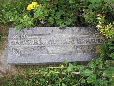 BURNS, MARLYS M. - Moody County, South Dakota | MARLYS M. BURNS - South Dakota Gravestone Photos