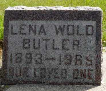 WOLD BUTLER, LENA - Moody County, South Dakota | LENA WOLD BUTLER - South Dakota Gravestone Photos