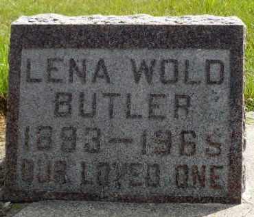 BUTLER, LENA - Moody County, South Dakota | LENA BUTLER - South Dakota Gravestone Photos