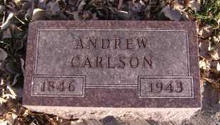 CARLSON, ANDREW - Moody County, South Dakota | ANDREW CARLSON - South Dakota Gravestone Photos