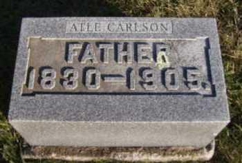 CARLSON, ATLE - Moody County, South Dakota | ATLE CARLSON - South Dakota Gravestone Photos