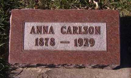 CARLSON, ANNA - Moody County, South Dakota | ANNA CARLSON - South Dakota Gravestone Photos