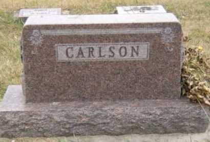 CARLSON, FAMILY - Moody County, South Dakota   FAMILY CARLSON - South Dakota Gravestone Photos