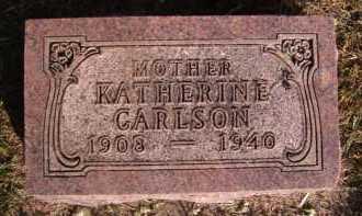 CARLSON, KATHERINE - Moody County, South Dakota   KATHERINE CARLSON - South Dakota Gravestone Photos