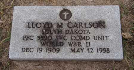 CARLSON, LLOYD M - Moody County, South Dakota | LLOYD M CARLSON - South Dakota Gravestone Photos