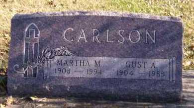 CARLSON, MARTHA M - Moody County, South Dakota | MARTHA M CARLSON - South Dakota Gravestone Photos