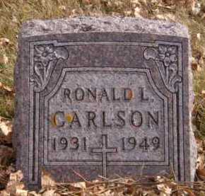 CARLSON, RONALD L - Moody County, South Dakota | RONALD L CARLSON - South Dakota Gravestone Photos