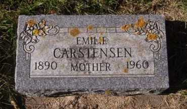CARSTENSEN, EMILIE - Moody County, South Dakota | EMILIE CARSTENSEN - South Dakota Gravestone Photos