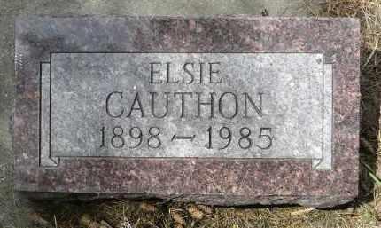 CAUTHON, ELSIE - Moody County, South Dakota | ELSIE CAUTHON - South Dakota Gravestone Photos
