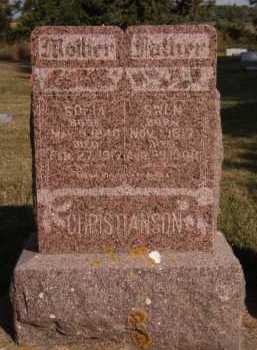 CHRISTANSON, SOFIA - Moody County, South Dakota | SOFIA CHRISTANSON - South Dakota Gravestone Photos