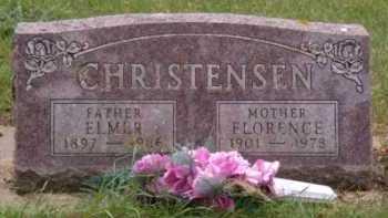 CHRISTENSEN, ELMER - Moody County, South Dakota | ELMER CHRISTENSEN - South Dakota Gravestone Photos