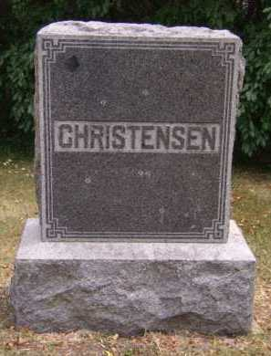 CHRISTENSEN, FAMILY - Moody County, South Dakota | FAMILY CHRISTENSEN - South Dakota Gravestone Photos