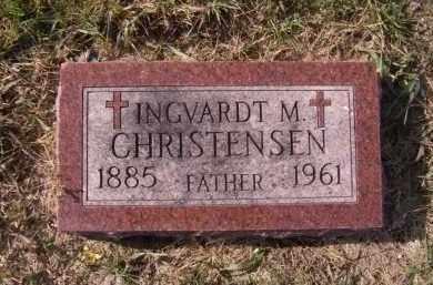 CHRISTENSEN, INGVARDT M - Moody County, South Dakota | INGVARDT M CHRISTENSEN - South Dakota Gravestone Photos
