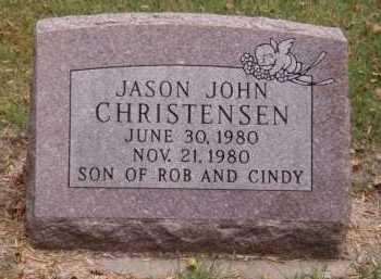 CHRISTENSEN, JASON JOHN - Moody County, South Dakota | JASON JOHN CHRISTENSEN - South Dakota Gravestone Photos