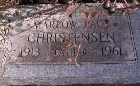 CHRISTENSEN, MARLOW PAUL - Moody County, South Dakota | MARLOW PAUL CHRISTENSEN - South Dakota Gravestone Photos