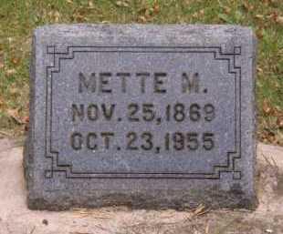 CHRISTENSEN, METTE M - Moody County, South Dakota | METTE M CHRISTENSEN - South Dakota Gravestone Photos