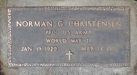 CHRISTENSEN, NORMAN  G. (MILITARY) - Moody County, South Dakota | NORMAN  G. (MILITARY) CHRISTENSEN - South Dakota Gravestone Photos