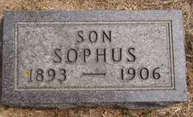 CHRISTENSEN, SOPHUS - Moody County, South Dakota | SOPHUS CHRISTENSEN - South Dakota Gravestone Photos