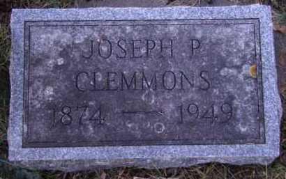 CLEMMONS, JOSEPH P - Moody County, South Dakota | JOSEPH P CLEMMONS - South Dakota Gravestone Photos