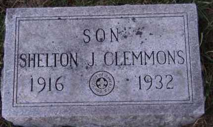 CLEMMONS, SHELTON J - Moody County, South Dakota | SHELTON J CLEMMONS - South Dakota Gravestone Photos