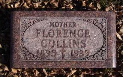 COLLINS, FLORENCE - Moody County, South Dakota | FLORENCE COLLINS - South Dakota Gravestone Photos