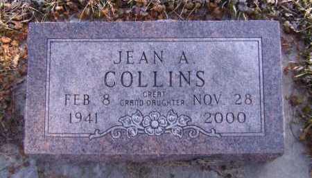 TROUP COLLINS, JEAN A - Moody County, South Dakota | JEAN A TROUP COLLINS - South Dakota Gravestone Photos